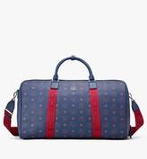 MCM Traveler Weekender Bag in Visetos