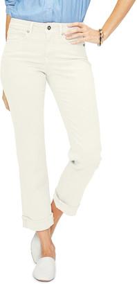 NYDJ Marilyn Straight-Leg Ankle Jeans w/ Clean Cuffs
