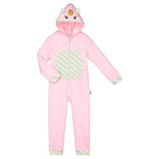 Camilla And Marc Girls Long Sleeves Unicorn Coverall Size - 3 Years (98 cm)