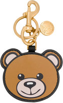 Moschino Toy bear key chain - women - Leather - One Size