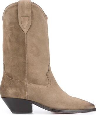 Isabel Marant Duerto textured style boots