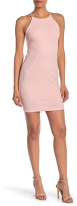 Love...Ady Halter Neck Bodycon Dress