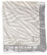 Little Giraffe Luxe(TM) Zebra Print Blanket