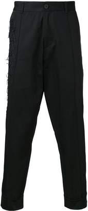 Isabel Benenato drop-crotch trousers