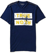 True Religion Ace Short-Sleeve Crewneck Logo Graphic Tee