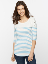 A Pea in the Pod Seraphine Pull Down Nursing Tee