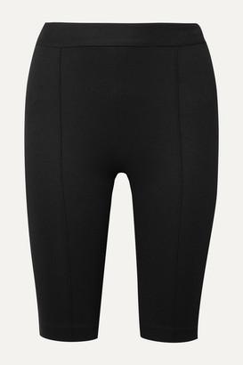 Rosetta Getty Stretch-ponte Shorts