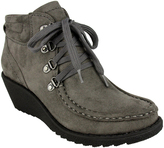 Not Rated Gray Topanga Wedge Ankle Boot