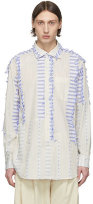 Engineered Garments Off-White Spread Collar Shirt