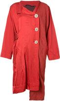 Vivienne Westwood asymmetric jacket - women - Linen/Flax - S