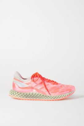 adidas 4d Run 1.0 Mesh And Primeknit Sneakers - Peach