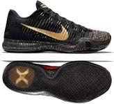 Nike Kobe X Elite Low Xmas 802560-076 Black/Gold/Crimson Men's Basketball Shoes (size 9)