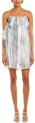 Paper Crane Abstract Shift Dress