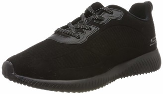 Skechers BOBS from Women's Bobs Squad - Team Bobs. Lace Up Embossed Microfiber Suede w Memory Foam. Shoe