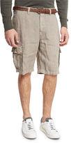 Brunello Cucinelli Linen Cargo Shorts