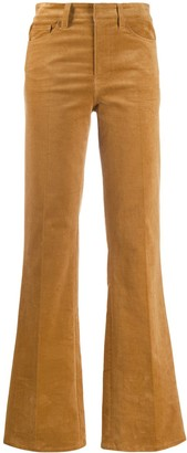 Zadig & Voltaire High Waisted Flared Trousers