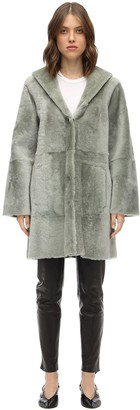 Drome Reversible Hooded Merinillo Coat