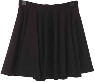 Surface to Air Navy Wool Skirts