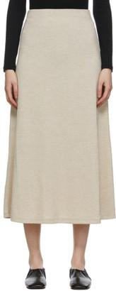 Blossom Beige Via Mid-Length Skirt