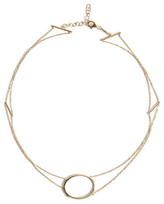 As 29 AS29 Double Chain Circle Choker