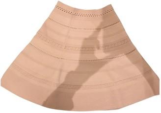Sandro Pink Cotton Skirt for Women