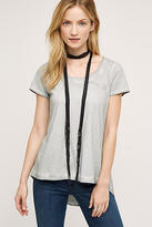 Anthropologie Washed Scoop Tee