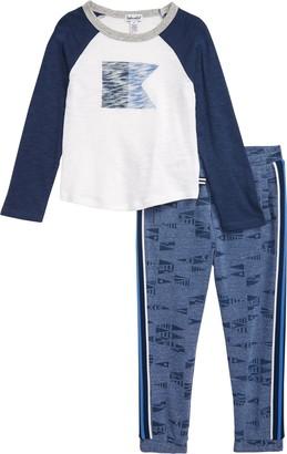 Splendid Nautical Flag Shirt & Pants Set