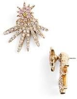 Oscar de la Renta 'Celestial Star' Crystal Ear Jackets