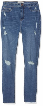 New Look 915 Girl's Jolie Busted Knee Jeans