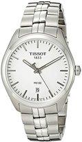 Tissot Men's T1014101103100 Analog Display Quartz Silver Watch