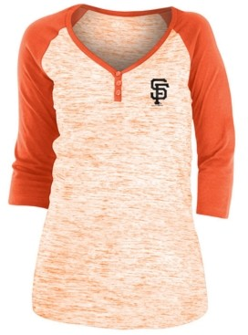 5th & Ocean San Francisco Giants Women's Space Dye Raglan Shirt