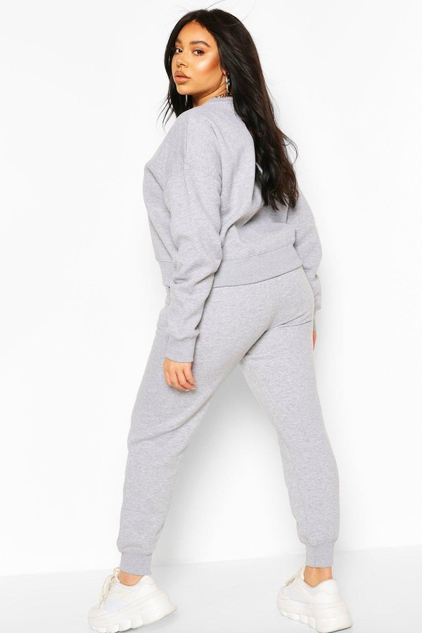 Thumbnail for your product : boohoo Plus Oversized Joggers