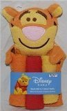 Disney Tigger Wash Mitt & 3 Wash Cloths