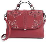 Chelsea28 Blair Embellished Faux Leather Top Handle Satchel