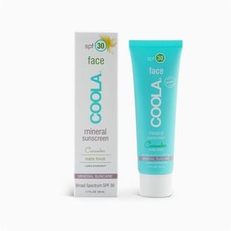 Coola Cucumber Matte Mineral Face Sunscreen Spf 30