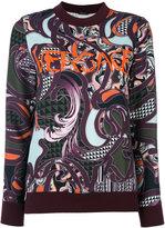 Versace Baroccoflage logo jumper - women - Polyamide/Spandex/Elastane/Viscose - 38