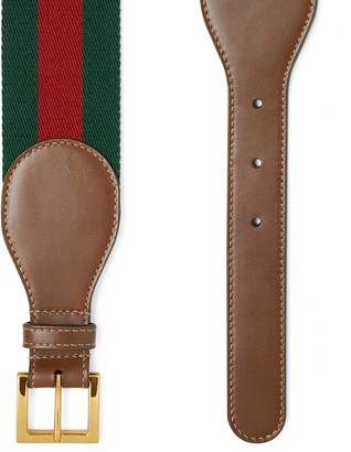 Gucci Belt with leather and Horsebit