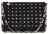 Stella McCartney Falabella studded clutch