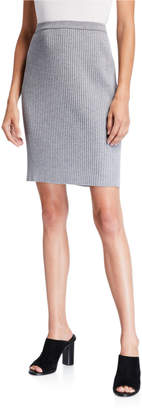 Eileen Fisher Washable Wool Rib Skirt
