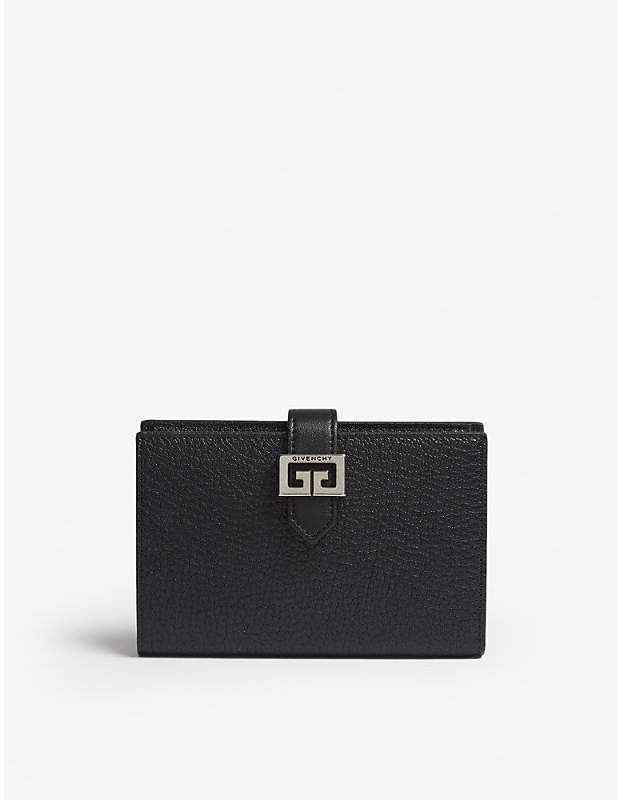 Givenchy 'GG' logo medium leather wallet