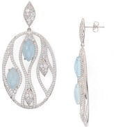 Nadri Calypso Chalcedony Earrings