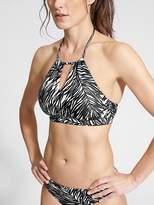Athleta Palms High Neck Bikini
