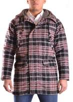 Meltin Pot Men's Multicolor Wool Coat.