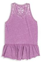 Chaser Toddler's, Little Girl's & Girl's Peplum Tank Top
