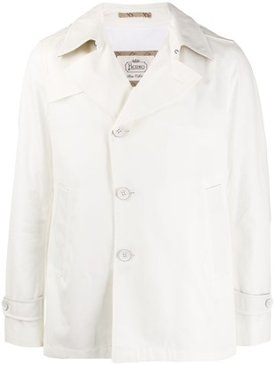 Herno Off-Centre Buttoned Jacket