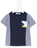 Familiar chest pocket striped T-shirt - kids - Cotton - 2 yrs