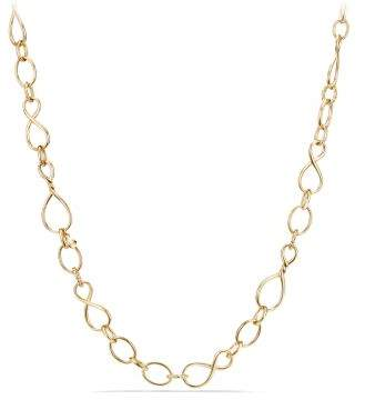David Yurman Continuance Medium Chain Necklace In 18K Gold