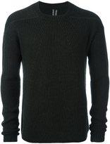 Rick Owens crew neck jumper - men - Polyamide/Cashmere/Wool - M