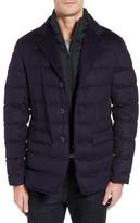 Herno Men's Silk & Cashmere Quilted Blazer