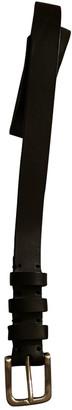 IRO Black Leather Belts